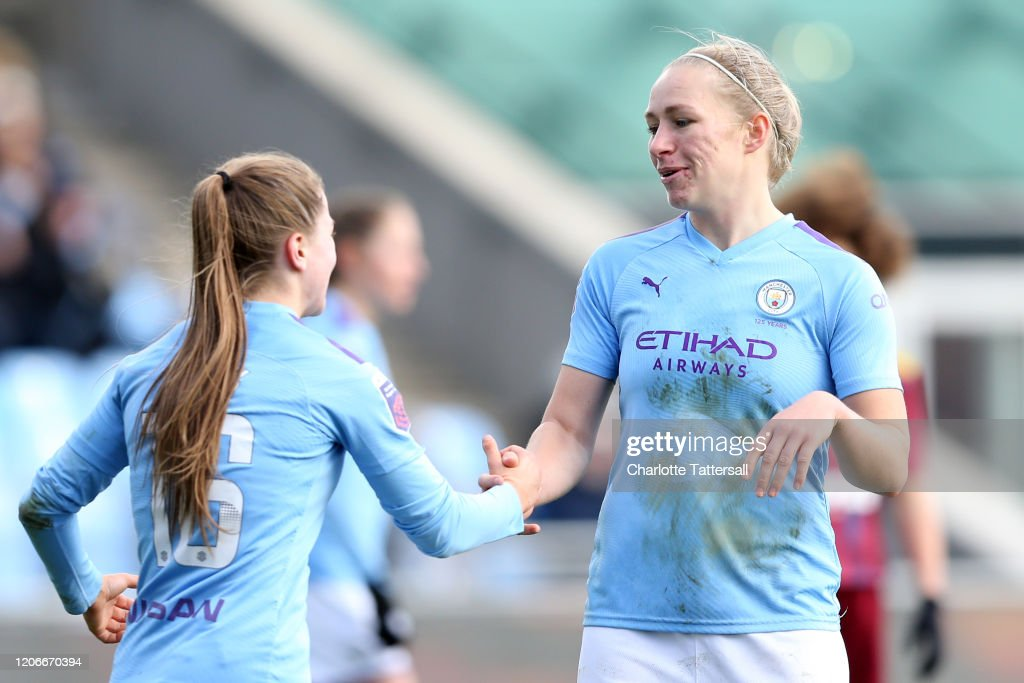 Manchester City v Ipswich FC - The Women's FA Cup: Fifth Round : News Photo