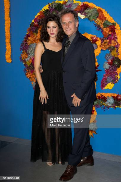 Pauline Cheviller and Charles Berling attend the Opening Season gala at Opera Garnier on September 21 2017 in Paris France