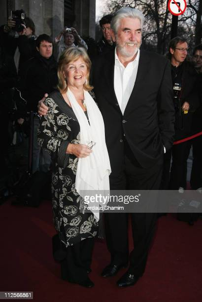Pauline Collins and John Alderton arrive for the Laurence Olivier Awards 2008 at Grosvenor House on March 9 2008 in London England