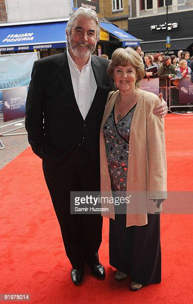Pauline Collins and John Alderton arrive for the premiere of 'From Time To Time' during the Times BFI 53rd London Film Festival at the Vue West End...