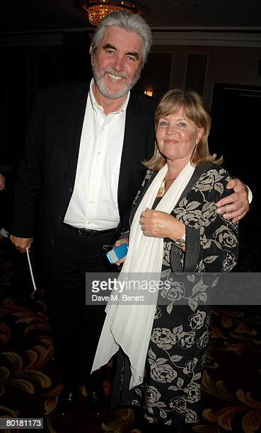 Pauline Collins and John Alderton attend The Laurence Olivier Awards at the Grosvenor House Hotel on March 9 2008 in London England