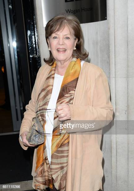 Pauline Collins at BBC Radio 2 on March 10 2017 in London England
