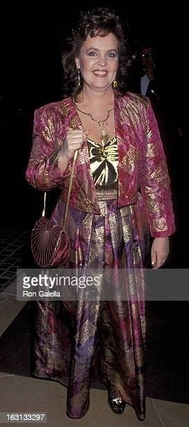 Pauline Collins attends 47th Annual Golden Globe Awards on January 20 1990 at the Beverly Hilton Hotel in Beverly Hills California