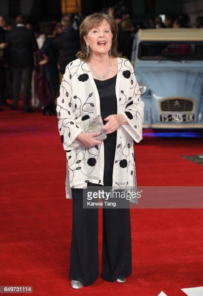 Pauline Collins attends the World Premiere of 'The Time Of Their Lives' at the Curzon Mayfair on March 8 2017 in London United Kingdom