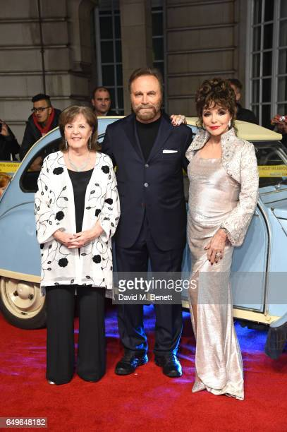 Pauline Collins Franco Nero and Joan Collins attend the World Premiere of 'The Time Of Their Lives' at The Curzon Mayfair on March 8 2017 in London...