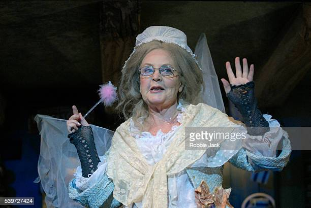 Pauline Collins in the production Cinderella at the Old Vic London Copyright Robbie Jack