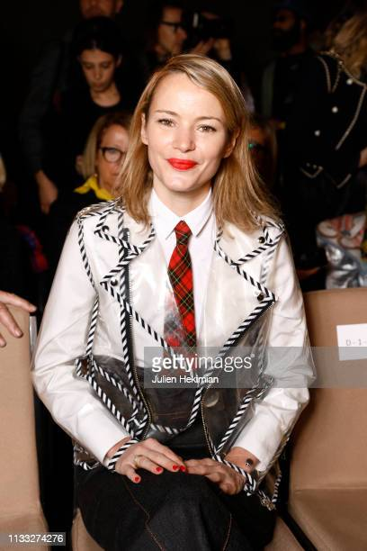 Pauline Drouas attends the Vivienne Westwood show as part of the Paris Fashion Week Womenswear Fall/Winter 2019/2020 on March 02 2019 in Paris France