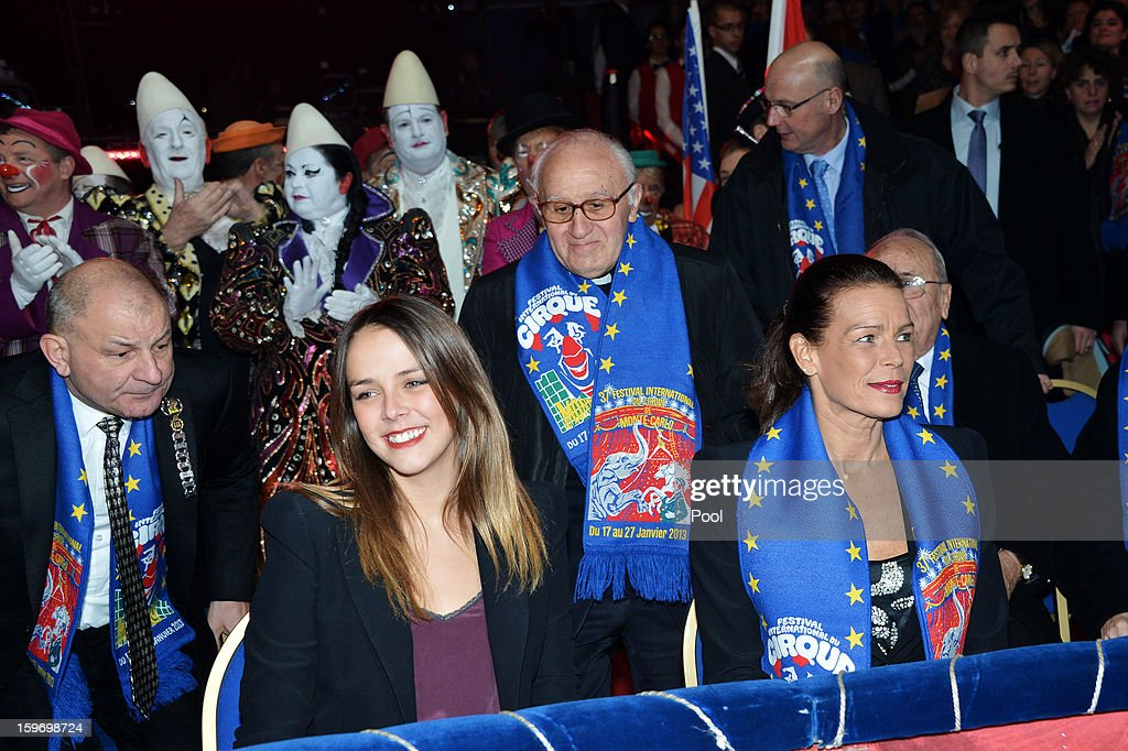 Pauline Ducruet and Princess Stephanie of Monaco attend day two of the Monte-Carlo 37th International Circus Festival on January 18, 2013 in Monte-Carlo, Monaco.