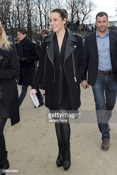 Pauline Ducruet arrives at the Valentino show as part of the Paris Fashion Week Womenswear Fall/Winter 20142015 on March 4 2014 in Paris France