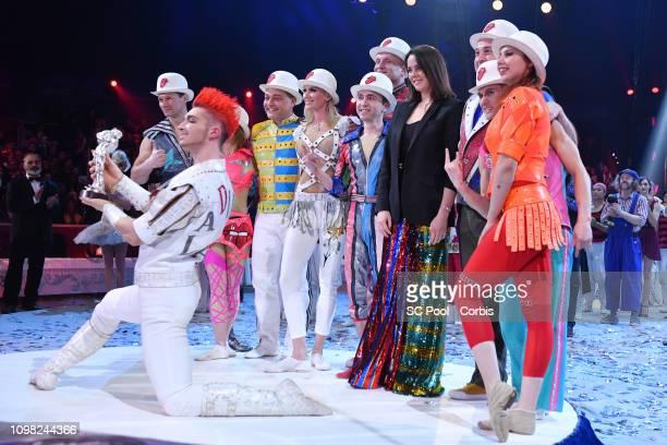Pauline Ducruet attend the Gala Ceremony of the 43rd International Circus Festival of MonteCarlo on January 22 2019 in Monaco Monaco