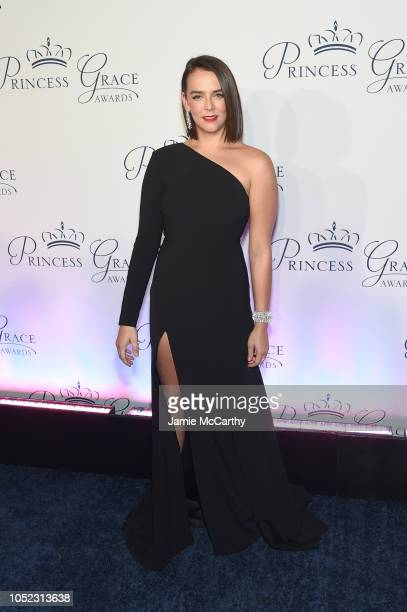 Pauline Ducruet attends the 2018 Princess Grace Awards Gala at Cipriani 25 Broadway on October 16 2018 in New York City