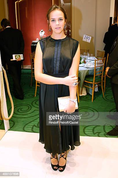 Pauline Ducruet attends the 27th 'Biennale des Antiquaires' Pre Opening at Le Grand Palais on September 9 2014 in Paris France