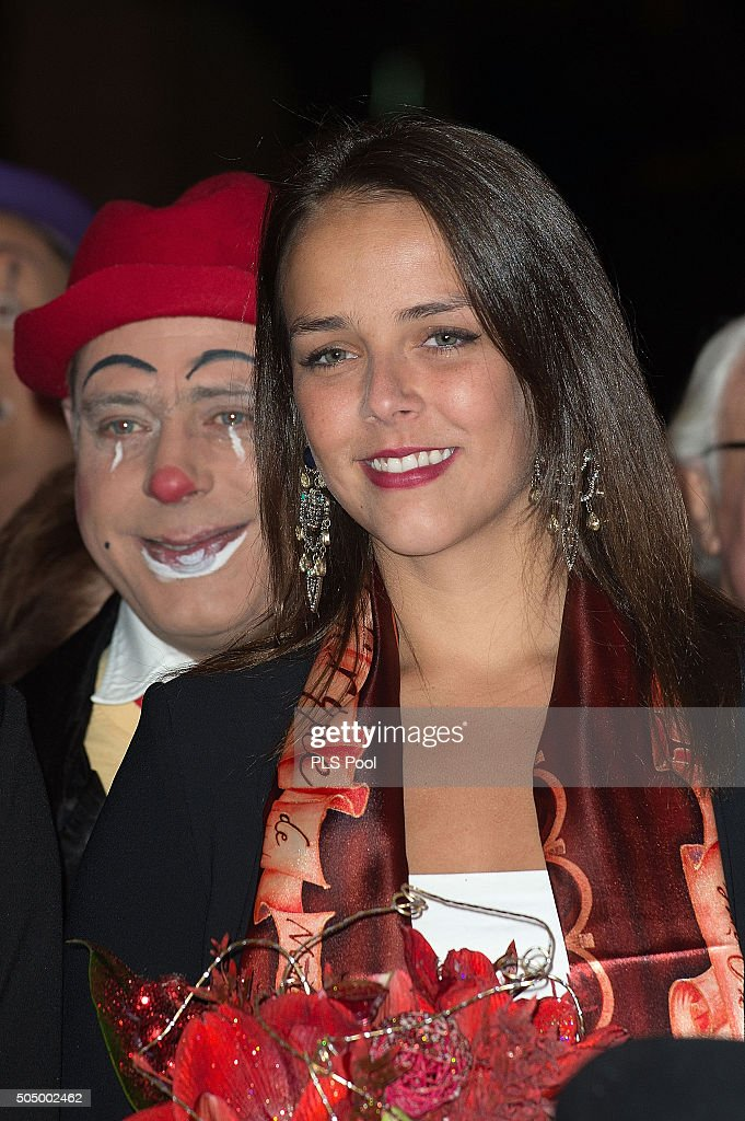 Pauline Ducruet attends the 40th International Circus Festival on January 14, 2016 in Monaco, Monaco.