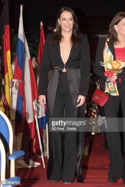 Pauline Ducruet attends the 42nd International Circus Festival In MonteCarlo on January 20 2018 in Monaco Monaco