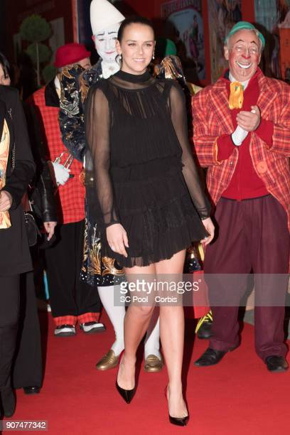 Pauline Ducruet attends the 42nd International Circus Festival in Monte Carlo on January 19 2018 in Monaco Monaco