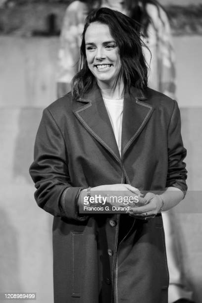 Pauline Ducruet attends the Alter Womenswear Fall/Winter 2020/2021 show as part of Paris Fashion Week At Palais de Tokyo on February 26, 2020 in...