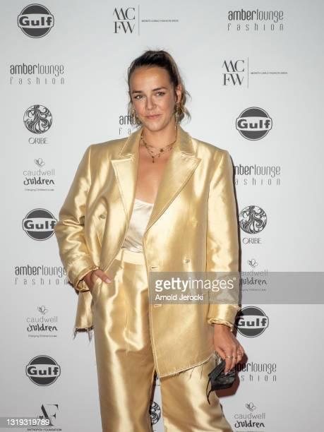 Pauline Ducruet attends the Amber Lounge 2021 Fashion Show on May 21, 2021 in Monte-Carlo, Monaco.