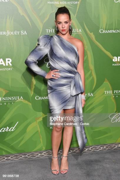 Pauline Ducruet attends the amfAR Paris Dinner 2018 at The Peninsula Hotel on July 4 2018 in Paris France