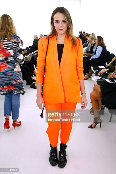 Pauline Ducruet attends the Balenciaga show as part of the Paris Fashion Week Womenswear Spring/Summer 2017 on October 2 2016 in Paris France