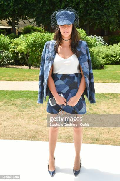 Pauline Ducruet attends the Christian Dior Haute Couture Fall/Winter 2018-2019 show as part of Haute Couture Paris Fashion Week on July 2, 2018 in...