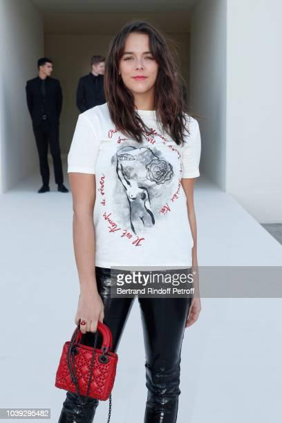 Pauline Ducruet attends the Christian Dior show as part of the Paris Fashion Week Womenswear Spring/Summer 2019 on September 24 2018 in Paris France
