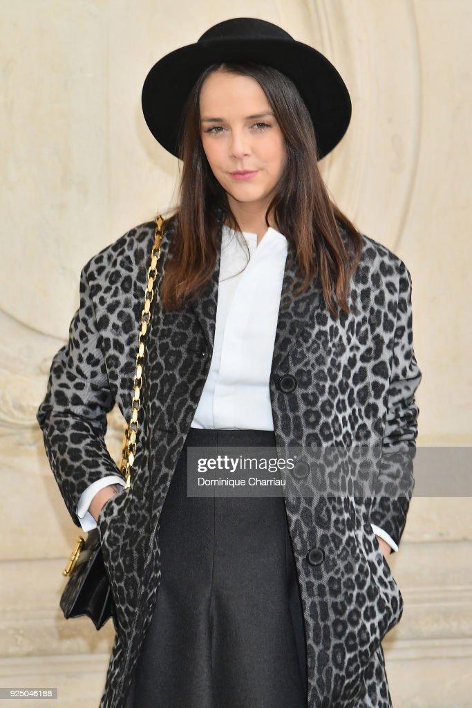 Pauline Ducruet attends the Christian Dior show as part of the Paris Fashion Week Womenswear Fall/Winter 2018/2019 on February 27, 2018 in Paris, France.