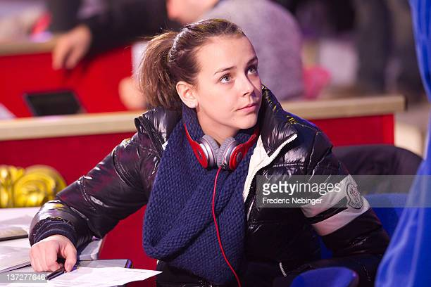Pauline Ducruet attends the General Rehearsal of MonteCarlo 36th International Circus Festival on January 18 2012 in MonteCarlo Monaco