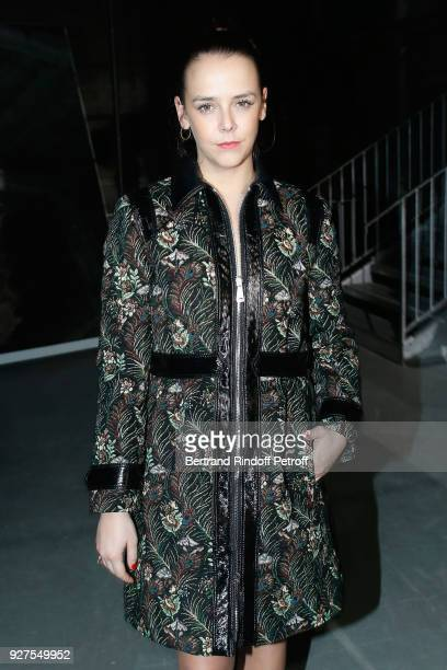Pauline Ducruet attends the Giambattista Valli show as part of the Paris Fashion Week Womenswear Fall/Winter 2018/2019 on March 5 2018 in Paris France
