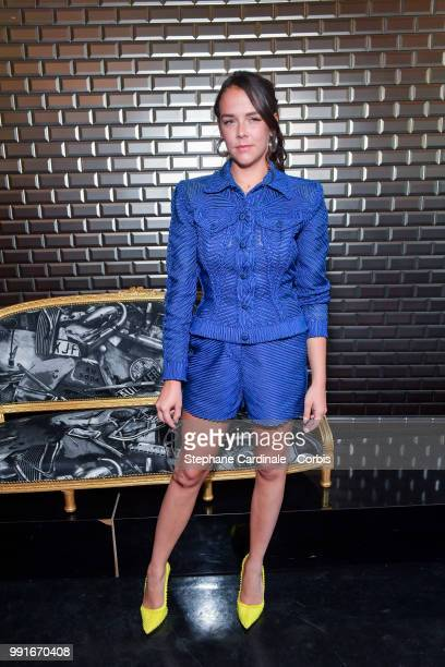 Pauline Ducruet attends the JeanPaul Gaultier Haute Couture Fall/Winter 20182019 show as part of Haute Couture Paris Fashion Week on July 4 2018 in...
