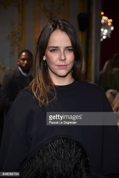 Pauline Ducruet attends the John Galliano show as part of the Paris Fashion Week Womenswear Fall/Winter 2017/2018 on March 5 2017 in Paris France