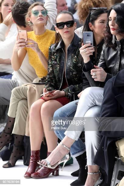 Pauline Ducruet attends the Leonard Paris show as part of the Paris Fashion Week Womenswear Fall/Winter 2018/2019 on March 5 2018 in Paris France