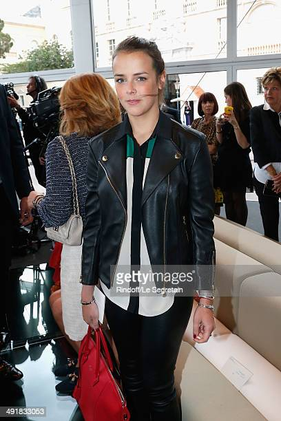 Pauline Ducruet attends the Louis Vuitton Cruise Line Show 2015 at Palais Princier on May 17 2014 in MonteCarlo Monaco