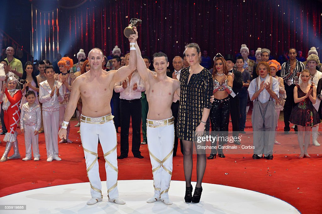 Pauline Ducruet during the Prize Ceremony of the 38th International Circus Festival on January 21, 2014 in Monte-Carlo, Monaco.