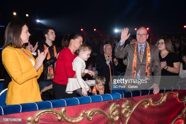 Pauline Ducruet Princess Stephanie of Monaco Princess Gabriella of Monaco Prince Jacques of Monaco Prince Albert II of Monaco and Camille Gottlieb...