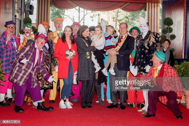 Pauline Ducruet Princess Stephanie of Monaco Princess Gabriella of Monaco Camille Gottlieb Prince Jacques of Monaco and Prince Albert II of Monaco...
