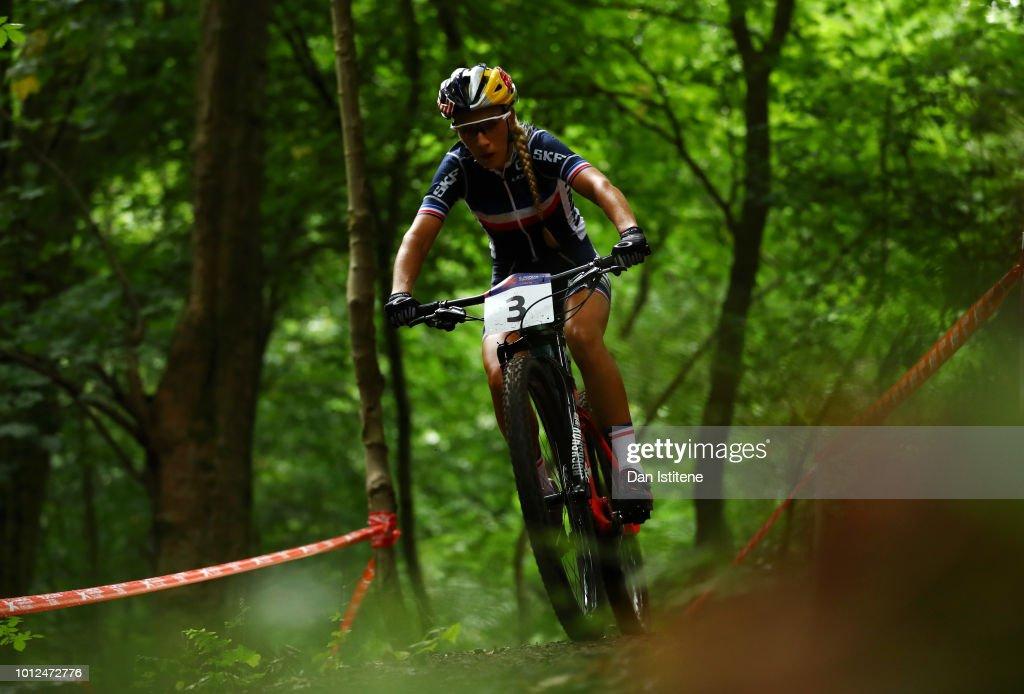 Mountain Bike - European Championships Glasgow 2018: Day Six : Photo d'actualité
