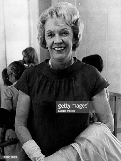 JUN 29 1966 JUN 30 1966 FEB 20 1968 Pauline Frederick Arrives At Stapleton NBC's UN correspondent came for a speech in Boulder