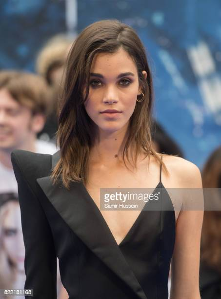 Pauline Hoarau attends the 'Valerian And The City Of A Thousand Planets' European Premiere at Cineworld Leicester Square on July 24 2017 in London...