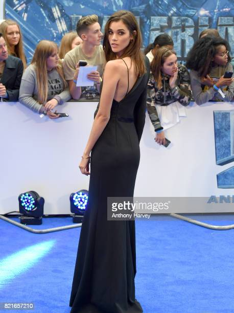 Pauline Hoarau attends the 'Valerian' European premiere at Cineworld Leicester Square on July 24 2017 in London England