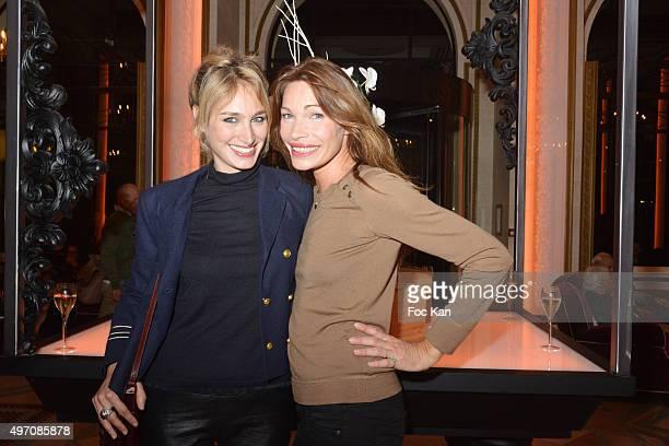 Pauline Lefevre and former top model Laurence Treil attend day 3 of the 'Festival du Cinema Musique De Film de La Baule' at Hotel Hermitage Barriere...