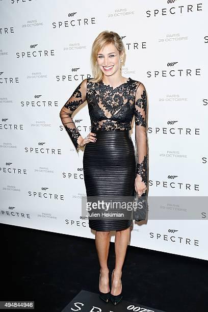 Pauline Lefevre attends '007 Spectre' Paris Premiere at Le Grand Rex on October 29 2015 in Paris France