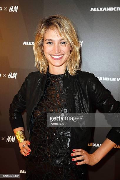 Pauline Lefevre attends Alexander Wang x HM Collection Launch at HM Boulevard SaintGermain on November 5 2014 in Paris France