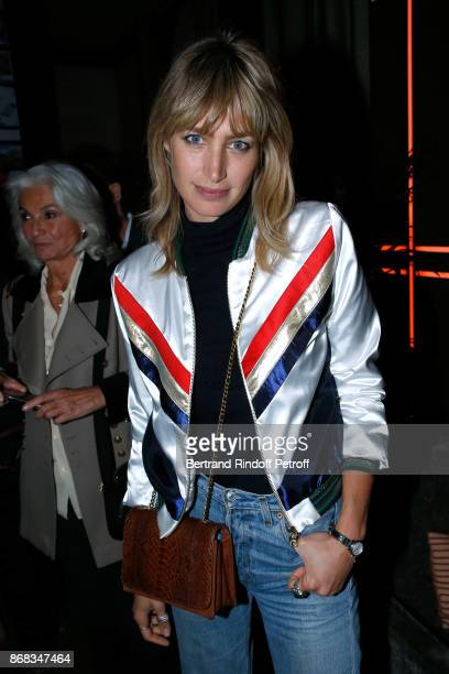 Pauline Lefevre attends Claude Lelouch celebrates his 80th Birthday at Restaurant Victoria on October 30 2017 in Paris France