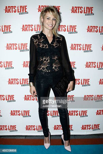 Pauline Lefevre attends 'Open Space' Premiere At Theatre du Rond Point on September 10 2014 in Paris France