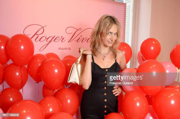 Pauline Lefevre attends Roger Vivier '#LoveVivier' Book Launch Cocktail on May 24 2018 in Paris France