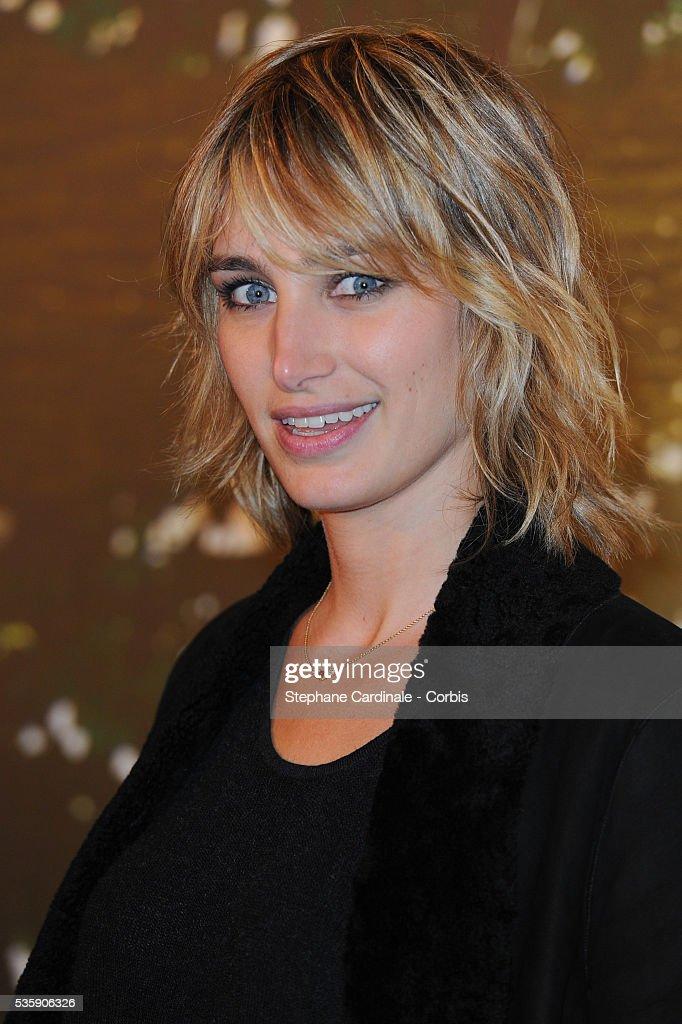 Pauline Lefevre attends the 'Il etait une foret' Paris Premiere at Cinema Gaumont Marignan, in Paris.