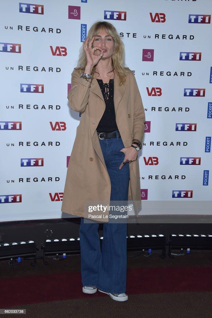 """Juste Un Regard"" : Photocall At The Cinema Gaumont Marignan In Paris"