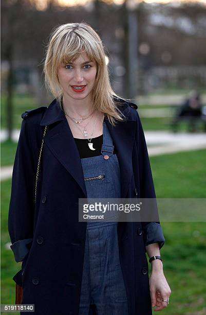 Pauline Lefevre attends the 'The End' Paris Premiere at Cinematheque Francaise on April 4 2016 in Paris France