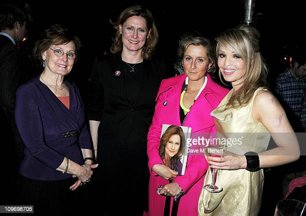 Pauline Macaulay Sarah Brown Martha Lane Fox and Katie Piper attend the book launch for Sarah Brown's new memoir about life at 10 Downing Street...