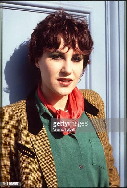 Pauline Murray of Penetration portrait London 20 March 1980